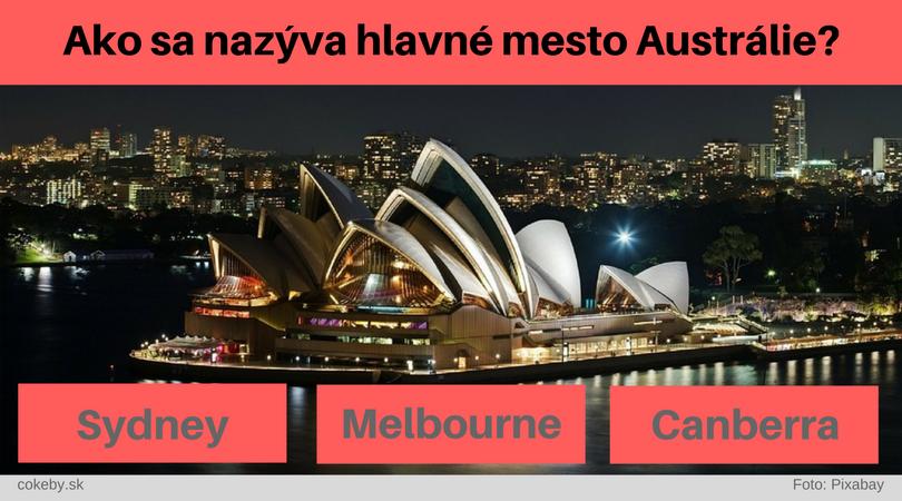 Dokážete priradiť k štátu názov jeho hlavného mesta?