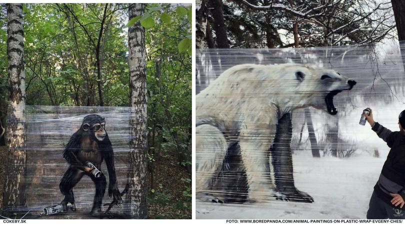 Graffiti, aké ste ešte nevideli: Diela mladého Rusa sú naozaj špeciálne