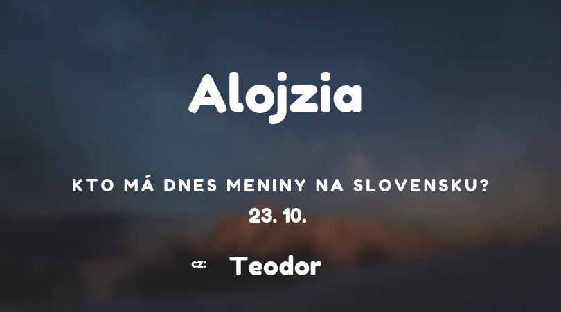 alojzia